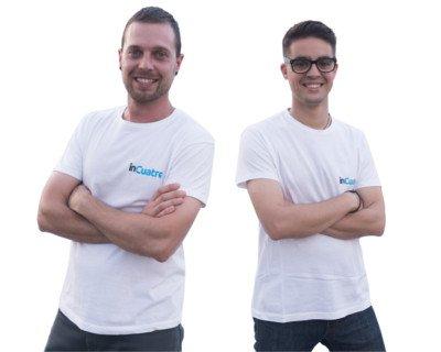 conoce incuatro empresa de informática kike Reverte y Victor Alvarez