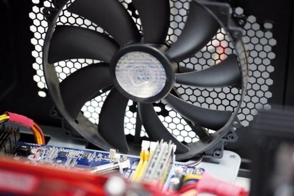 sistema de ventilación del ordenador